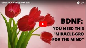 "BDNF: It's ""Miracle-Gro for the brain"""